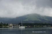 平野ワンドから明神山を望む