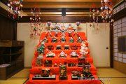 風生庵に飾ってあるひな人形