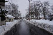 名残雪だけど大雪