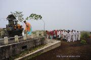 山中諏訪神社奥宮祭