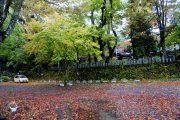 山中諏訪神社駐車場