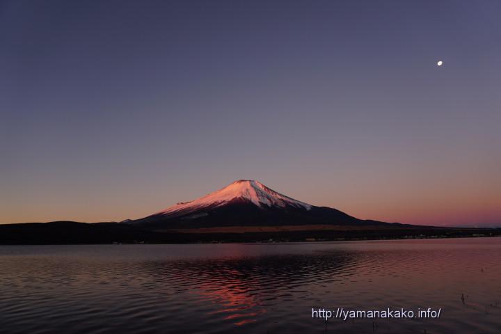 ほんのりと紅富士
