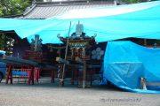 平野天満宮祭準備中