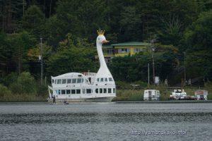 平野ワンドの遊覧船
