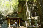パワースポット 石割神社に参拝